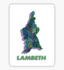 Lambeth - London Boroughs Sticker
