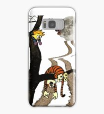 calvin hobbes  Samsung Galaxy Case/Skin