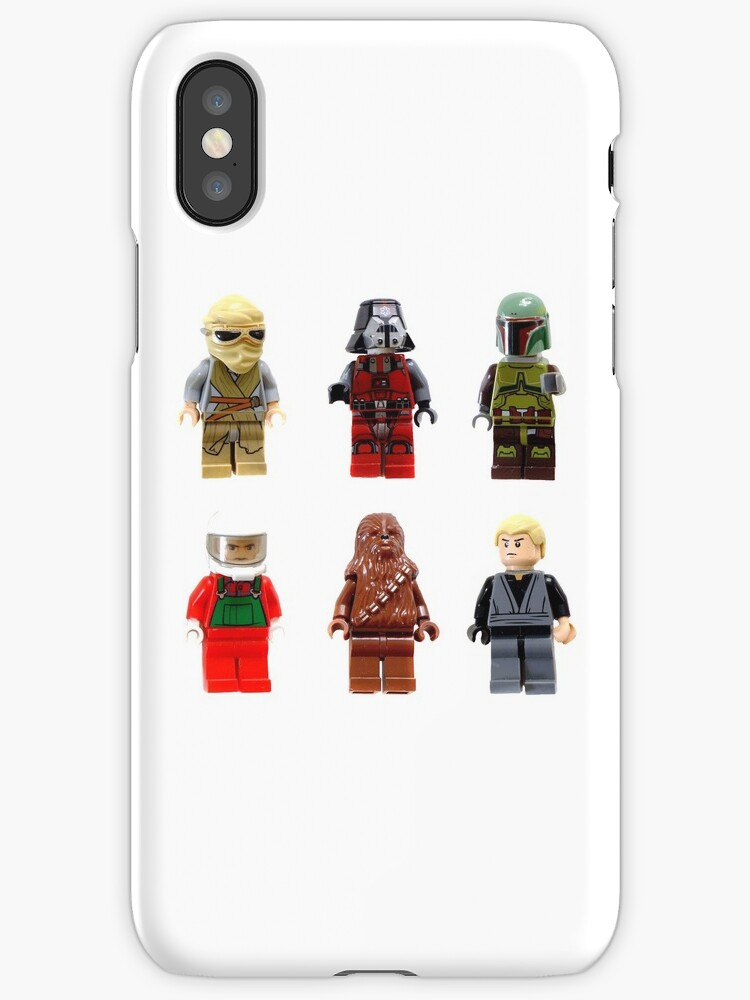 """Star Wars Lego Figures Dark & Light Side"""" iPhone Cases & Covers by ..."""