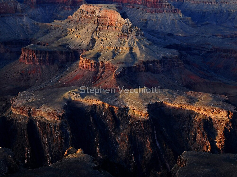 Grand Canyon Light by Stephen Vecchiotti