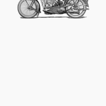 1925 Harley by ezcat
