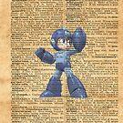 Super Smash - Mega man Dictionary by Aaron Campbell