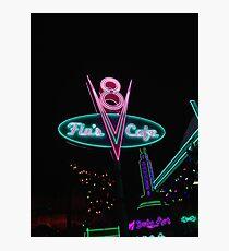 Flo's V8 Cafe Photographic Print