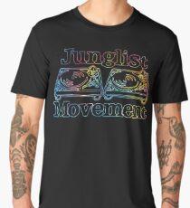 Junglist Movement - Tye Dye Sketch Men's Premium T-Shirt