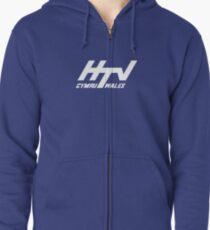 HTV Cymru Zipped Hoodie