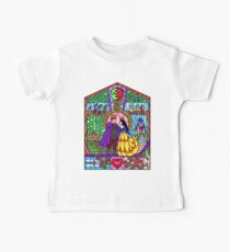 Snowdrops in the Stained Glass Window Baby Tee