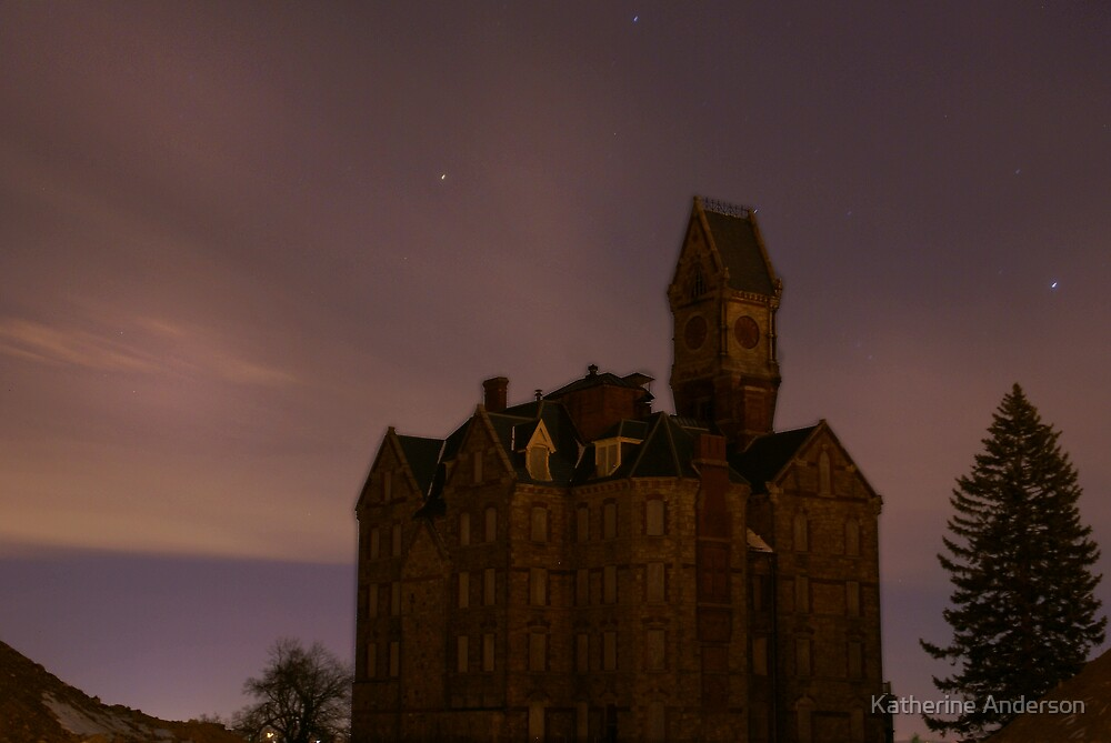 Worcester Night Shot by Katherine Anderson