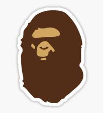 Bape Gorilla Head Sticker