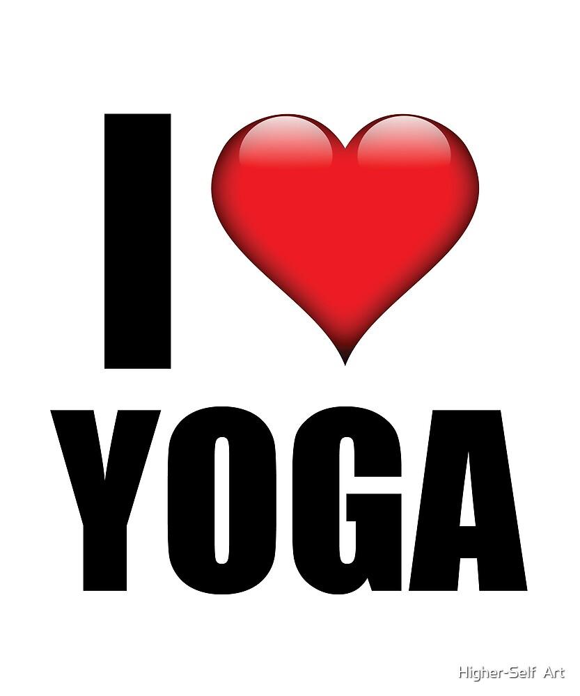 I love yoga heart symbol tshirt cute training gift by higher self i love yoga heart symbol tshirt cute training gift by higher self art buycottarizona Images