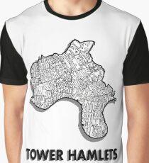 Tower Hamlets - London Boroughs Graphic T-Shirt