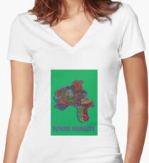 Tower Hamlets - London Boroughs Women's Fitted V-Neck T-Shirt