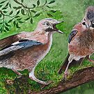 JAY - PECKED RATHER THAN HEN - PECKED! by Marilyn Grimble