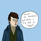 Rabbie Burns  by Cat Bruce