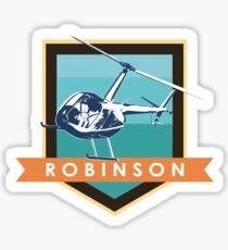 Robinson Helicopter Sticker