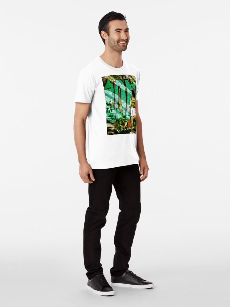 Alternate view of Light Call Premium T-Shirt