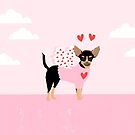 Chihuahua dog breed cupid costume dog breed valentines day chihuahuas by PetFriendly
