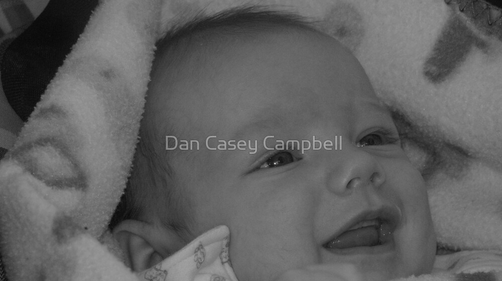 A smile for Daddy by Dan Casey Campbell