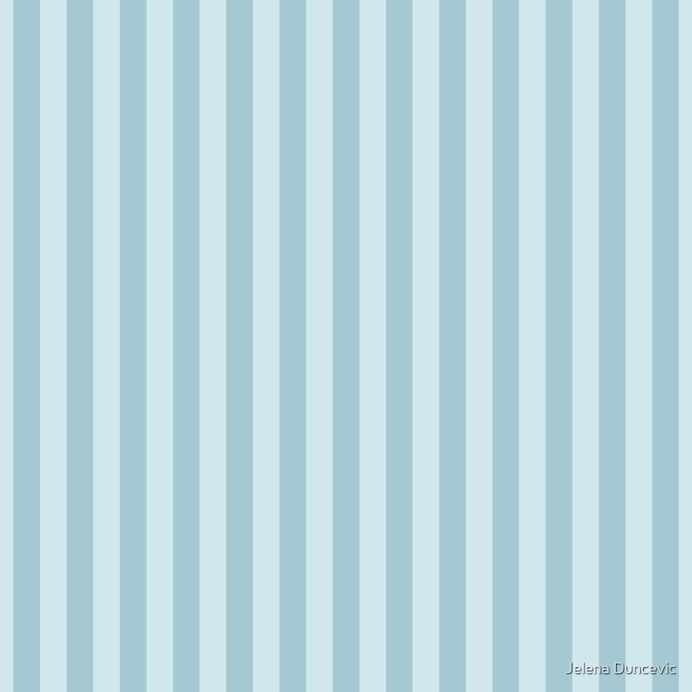 Stripes (Parallel Lines, Striped Pattern) - Blue  by sitnica