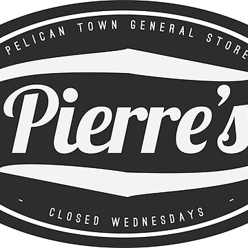Stardew Valley Pierres General store logo by freshcoffee