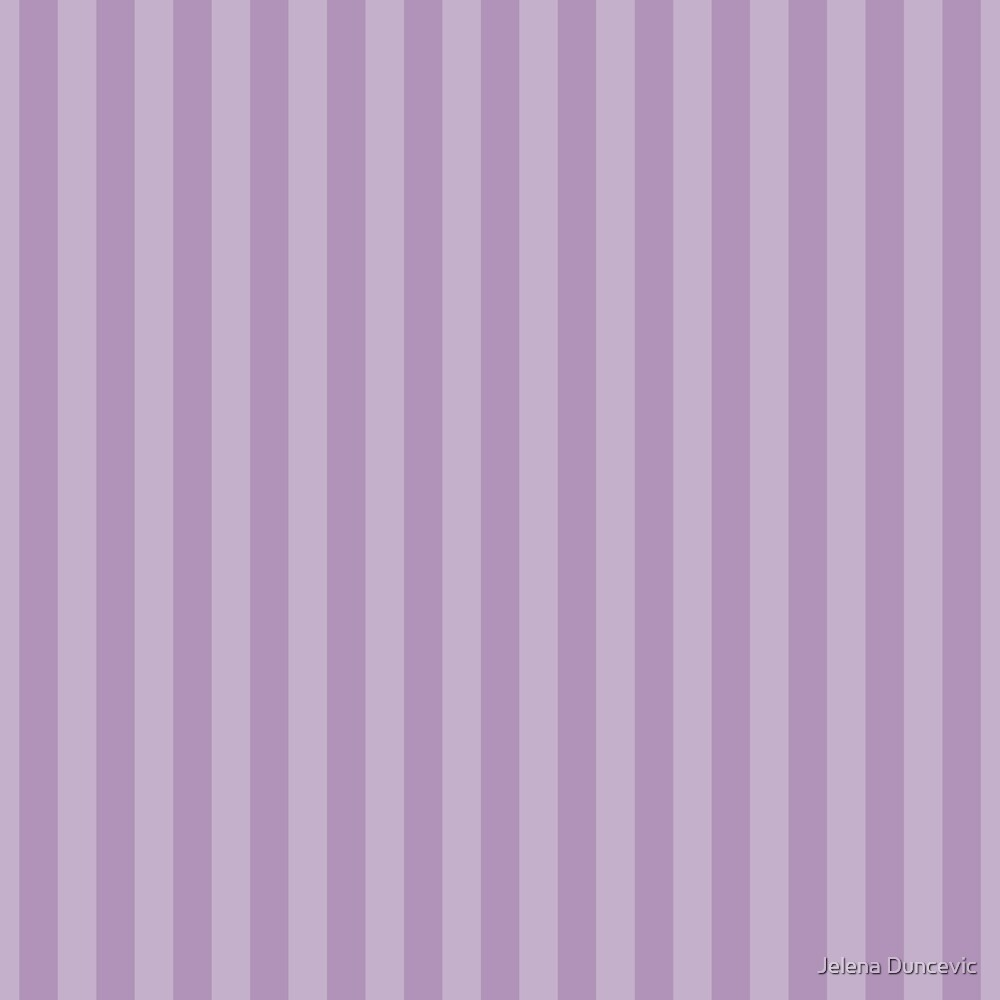 Stripes (Parallel Lines, Striped Pattern) - Purple  by sitnica
