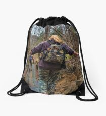 Hiking Crew Drawstring Bag