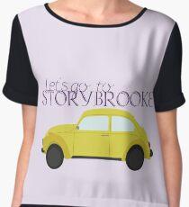 Let's go to Storybrooke Chiffon Top