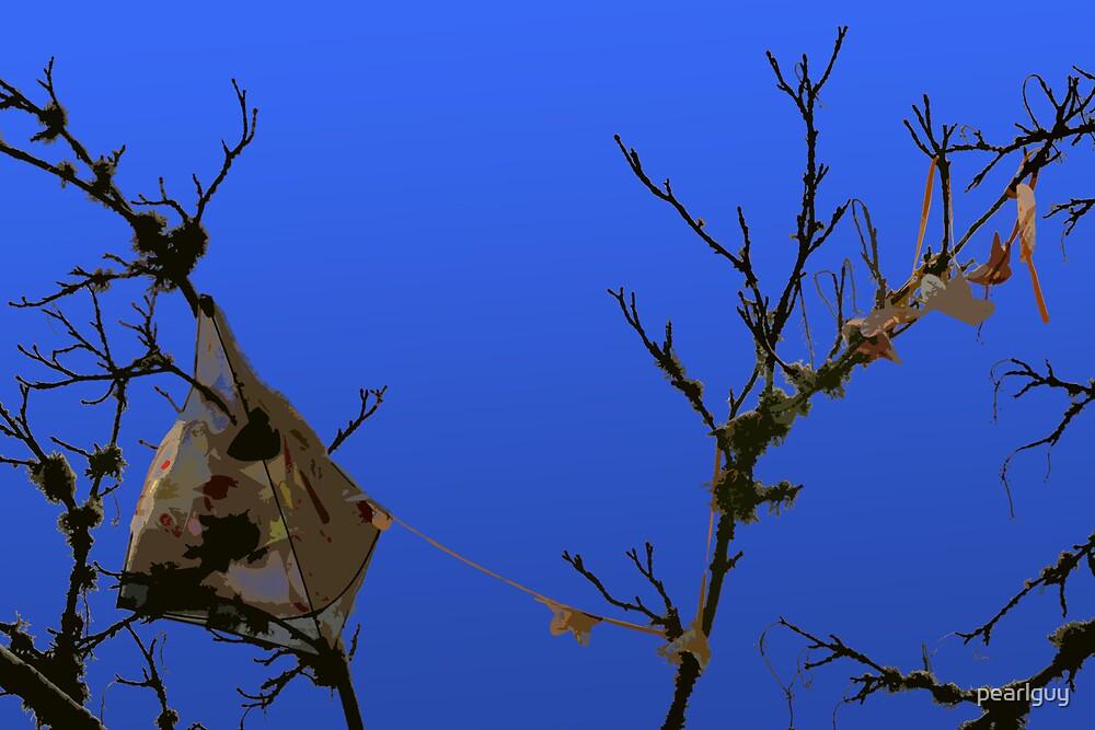 Tree Eats Kite by pearlguy
