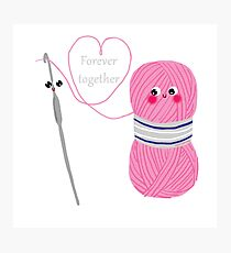 Forever together Photographic Print