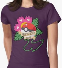 Whip it Good, Bruh Women's Fitted T-Shirt