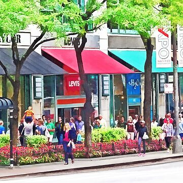 Chicago IL - Shopping Along Michigan Avenue by SudaP0408