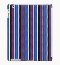 Knitted texture stripes 1 iPad Case/Skin