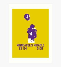 Minneapolis Miracle Art Print