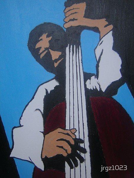 Upright Bassist by jrgz1023