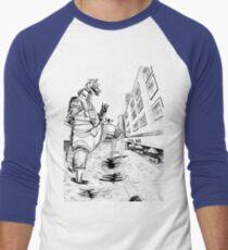 Mechagodzilla in Brooklyn Men's Baseball ¾ T-Shirt