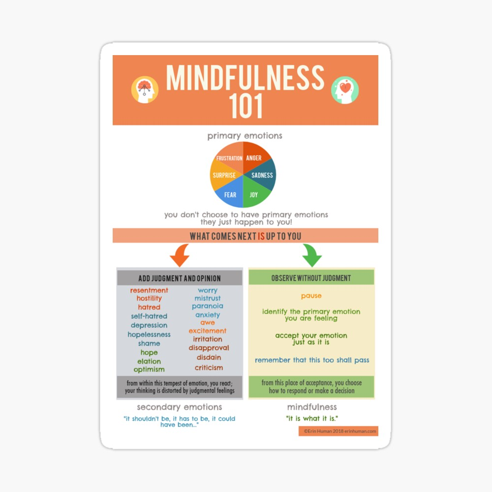Mindfulness 101 Sticker
