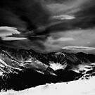 Cirrocumulus Clouds Over the Continental Divide by Wayne King