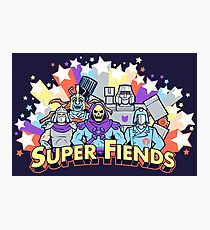 Super Fiends Photographic Print
