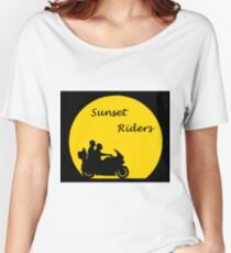 Sunset Riders Bikers Women's Relaxed Fit T-Shirt