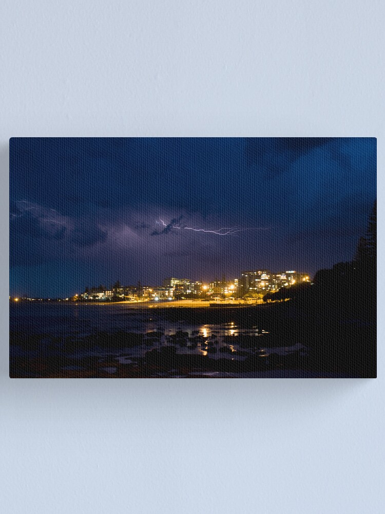 Alternate view of Storm over the King Canvas Print