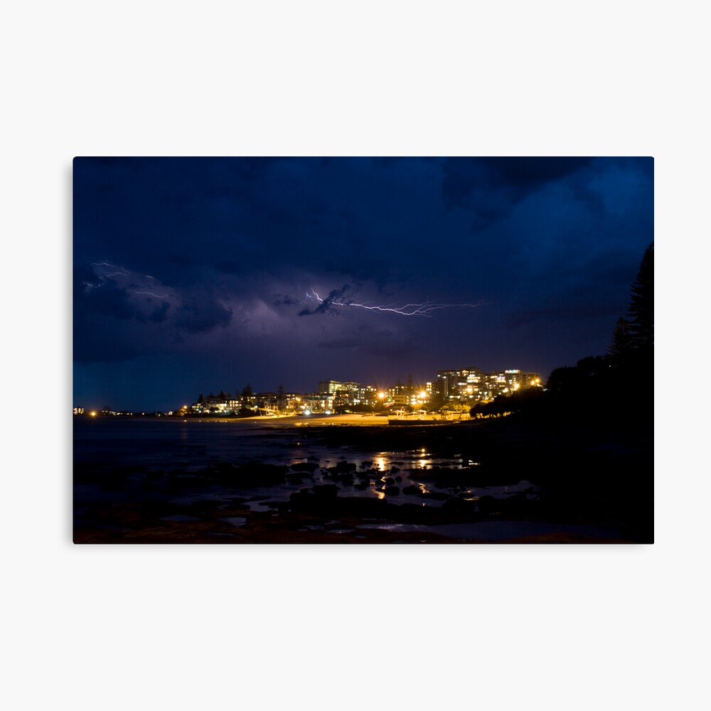 Storm over the King Canvas Print