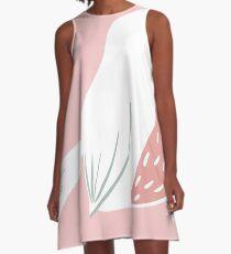 Blushing Bird A-Line Dress
