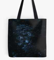 The universe overhead, it shines brightly as if just for us Tote Bag