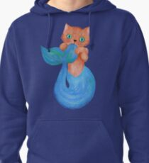 Merkitten Life Lesson #14 - You are NOT your food Pullover Hoodie