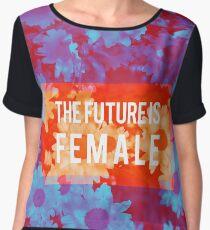 The Future Is Female Chiffon Top