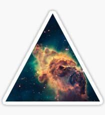 Stein-Galaxie Sticker