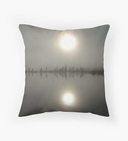 Sun Above, Sun Below Throw Pillow