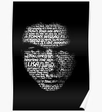 Tommy Wise Words Poster