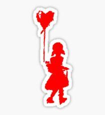 walk your heart Sticker