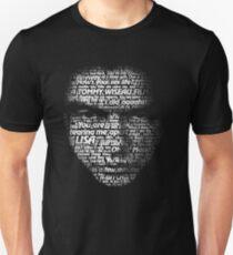 Tommy weise Worte Slim Fit T-Shirt