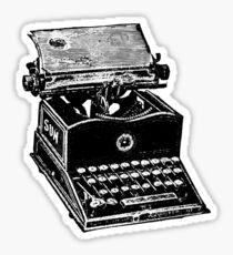 Schreibmaschine Sticker